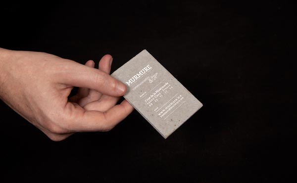 Concrete Business Card by Murmure