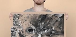 Dark Graphic Design by Fredrik Melby