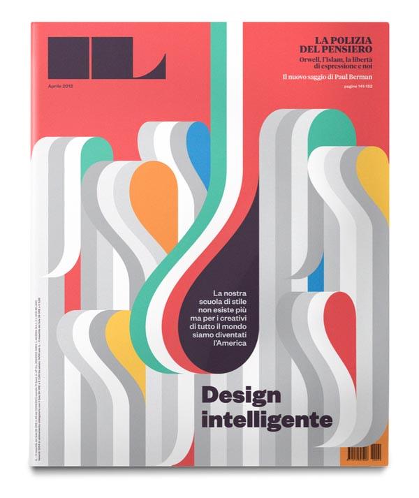 IL magazine Cover Design and Editorial Illustrations by La ...