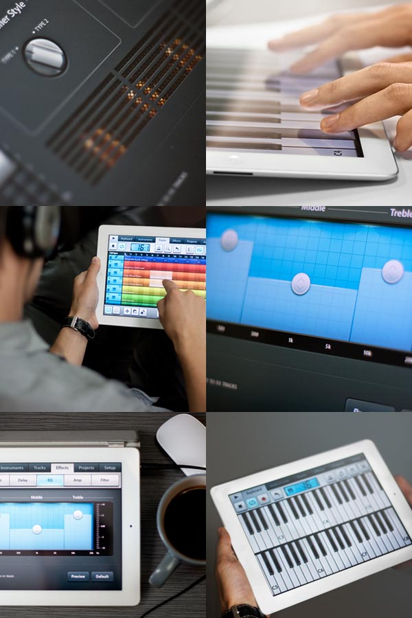 fl studio mobile interaction  user interface design