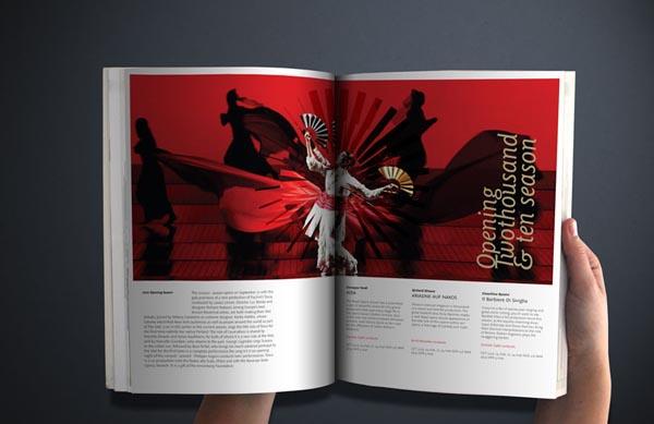 Identity - Royal Opera House - Design by Samantha Wilkes