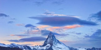 Landscape Photography of Matterhorn and Stellisee