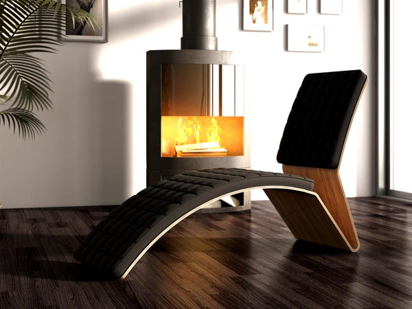Designer Lounge Chair by Michal Bonikowski