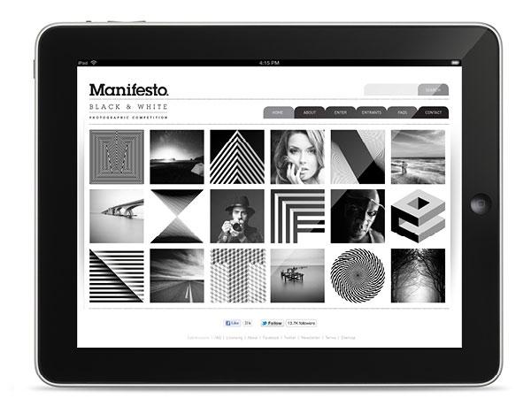 Manifesto Identity - Website