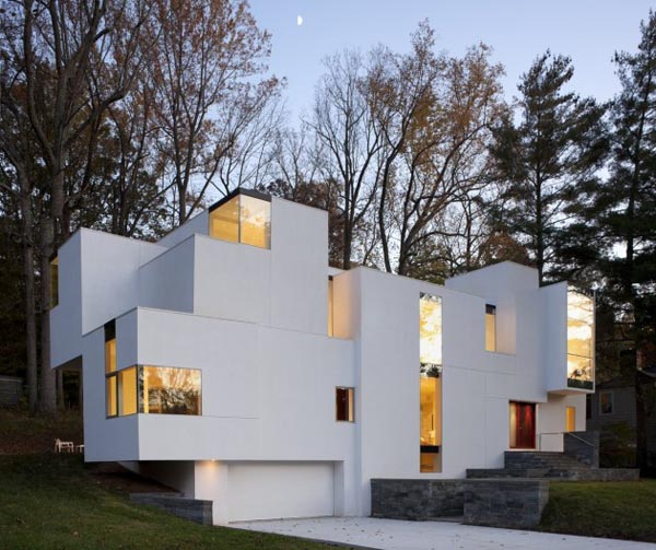 Experimental and Modern Architecture - NaCl House by David Jameson Architect