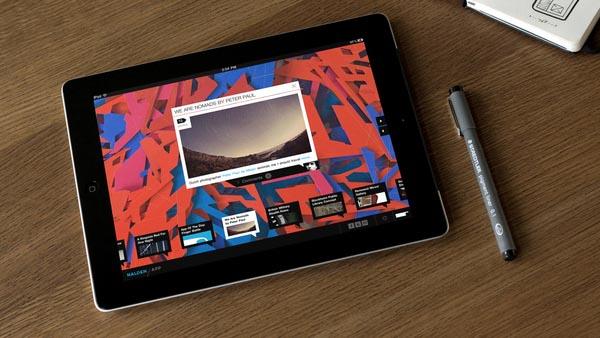Nalden iPad App - User Interface Design by Momkai