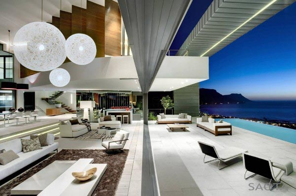 Luxurious Nettleton House in South Africa by SOATA