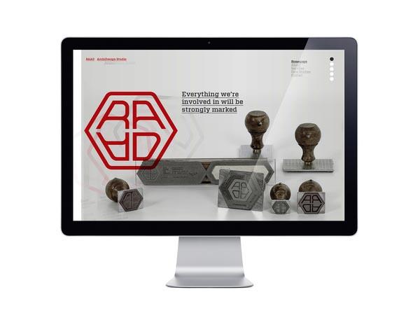 RAAD Branding - Website Design