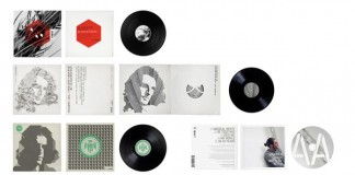 Record Cover Design by Mark Brooks