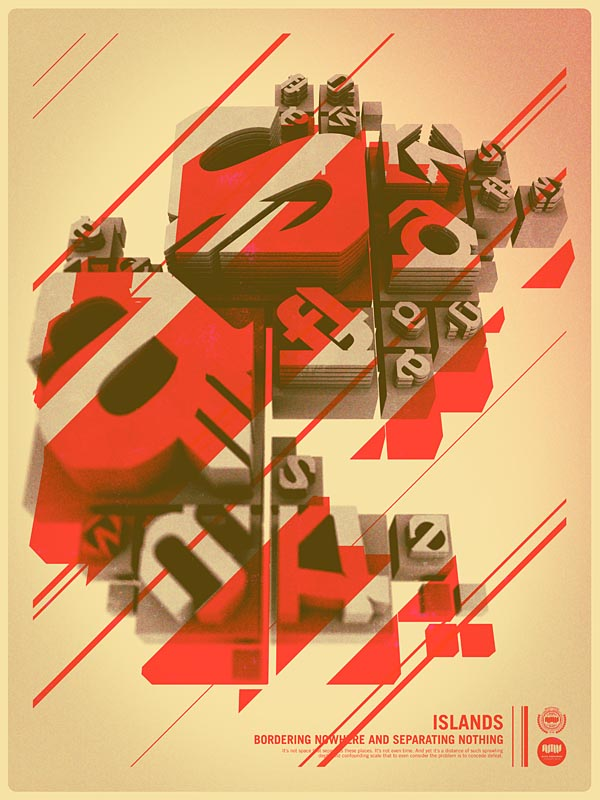 Retro Typography Poster Design by Alex Varanese