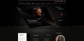 Rzeszow Philharmonic Website Design