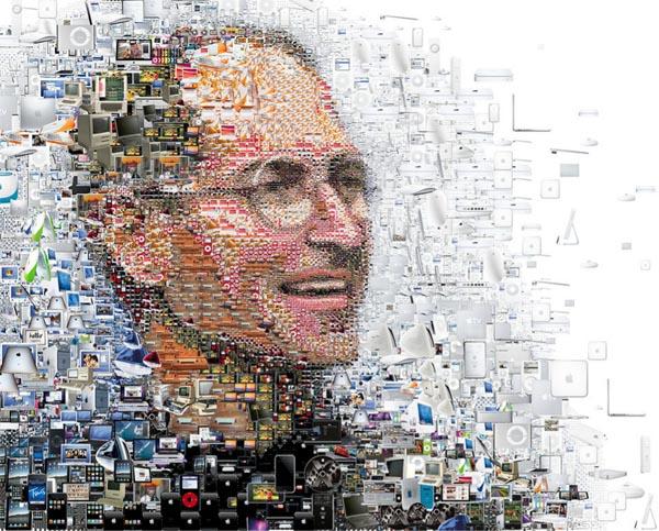 Steve Jobs Portraits by Charis Tsevis