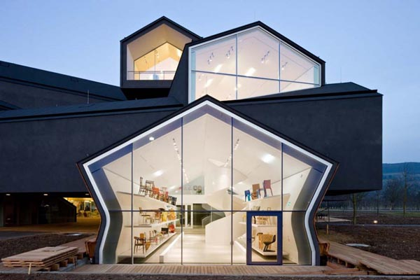 Crazy and Outstanding Architecture - The Vitrahaus by Herzog de Meuron