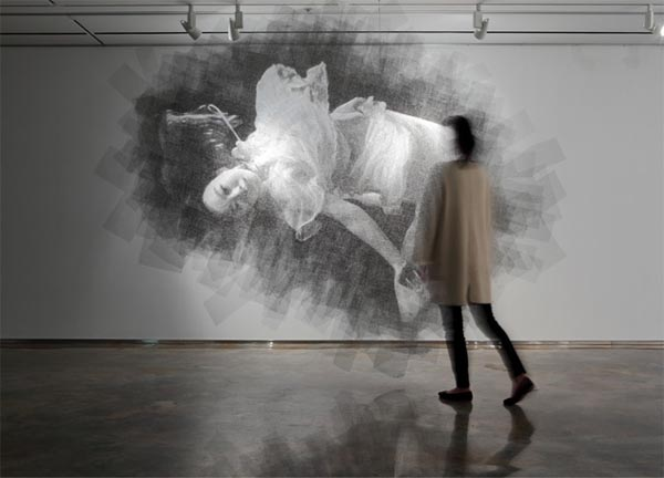 Wire Mesh Sculptures and Portraits by Seung Mo Park