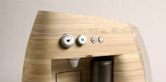 Wooden Espresso Machine
