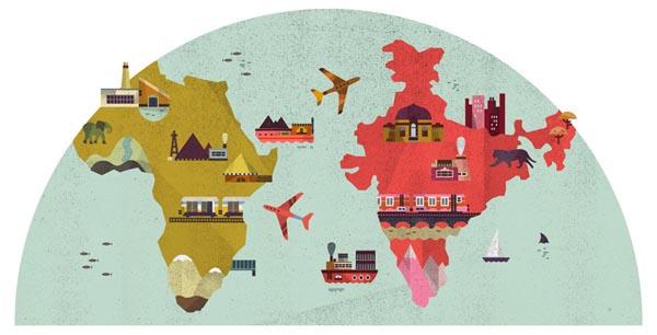 business world 2 illustration by lotta nieminen