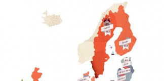 euro map illustration by lotta nieminen
