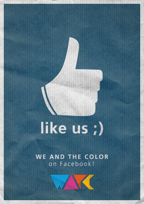 The WE AND THE COLOR Facebook Page