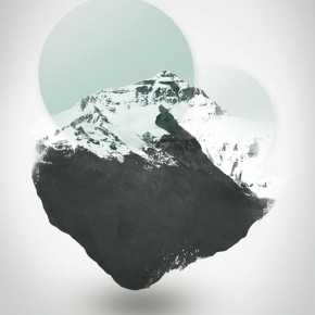 Mount Everest - The Surreal Northface - Illustration by Dirk Petzold