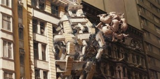 Painting by Jeremy Geddes
