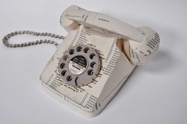 papercraft phone by Jennifer Collier