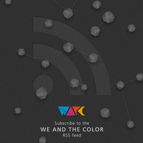 The WE AND THE COLOR - RSS Feed
