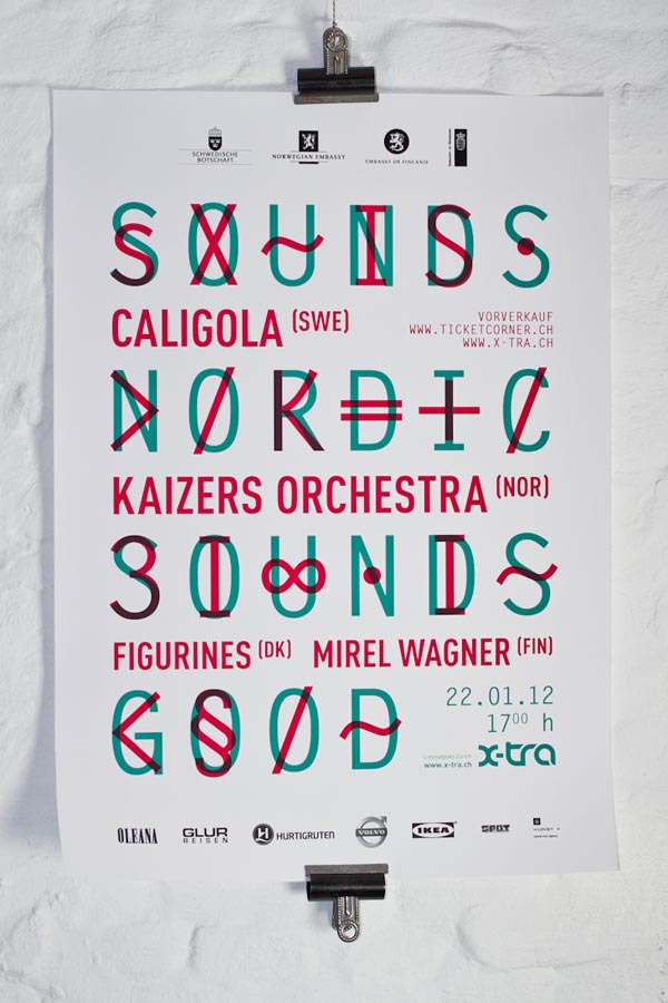snsg identity and typographic poster design by waaitt