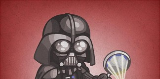 star wars kid darth vader illustration
