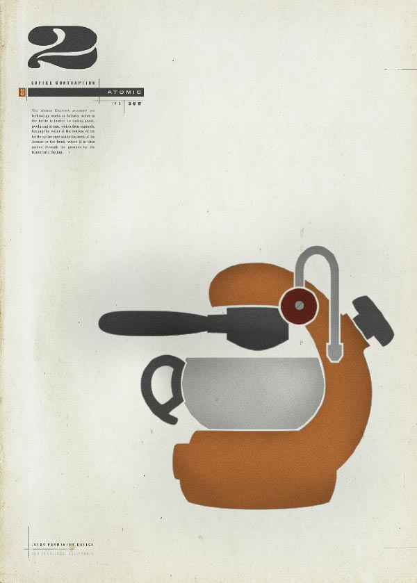 Coffee Contraptions Poster Series by Jason Permenter