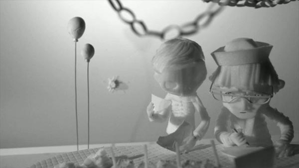 The Eagleman Stag - Animated Short Film by Mikey Please