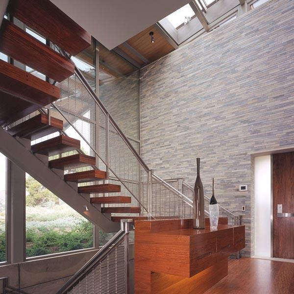 ... Staircase Inside The Modern Designed Villa By Marmol Radziner