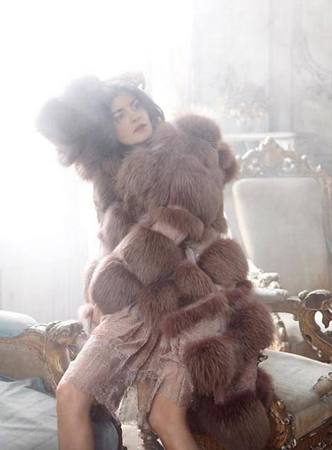 Audrey Tautou Fashion Photography By Ralph Wenig