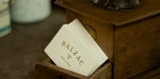 Balzac Brasserie Identity