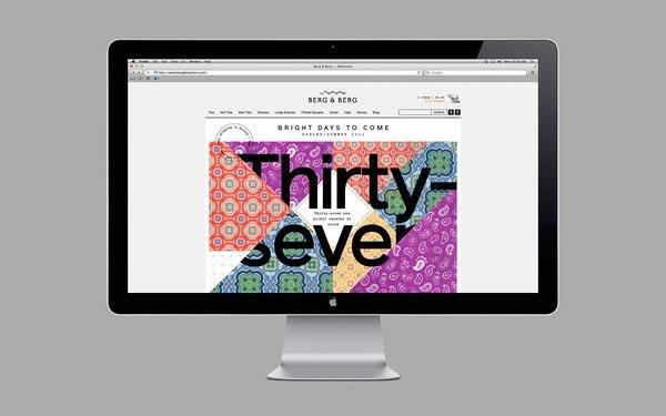 Berg & Berg Idenitity - Web Design by Heydays