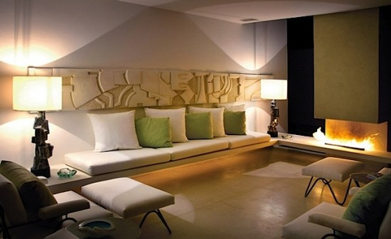 Luxurious Living Room of the Casa Finisterra