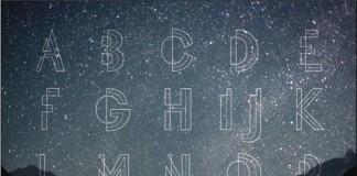 Celestial Night - Typeface