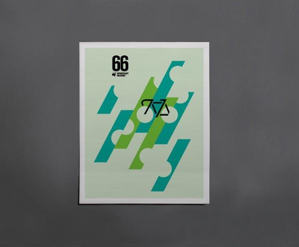 Cycling Posters by Caleb Kozlowski