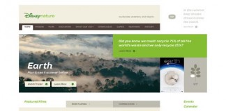 Disney Nature Website Design by Andy Gugel