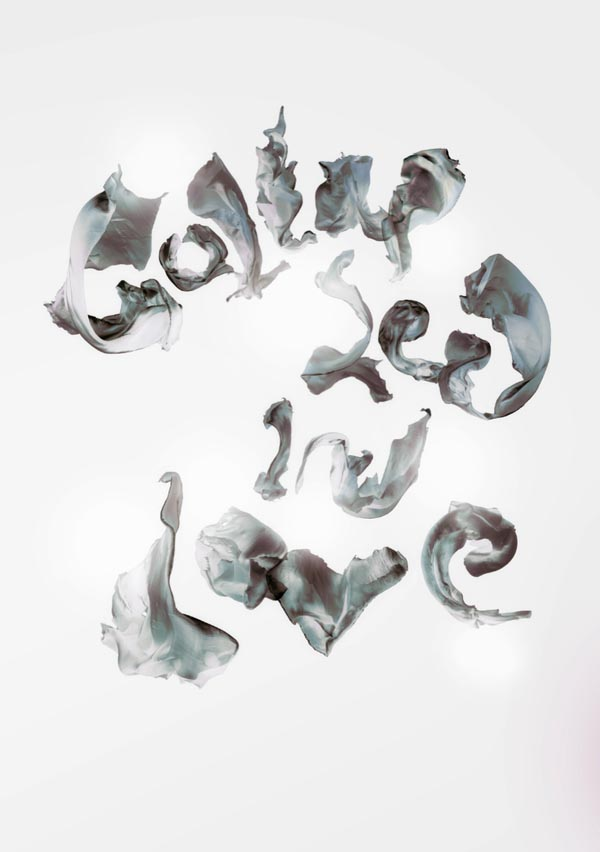 Experimental Typography Art by Craig Ward