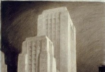 Architectural Drawings by Hugh Ferriss