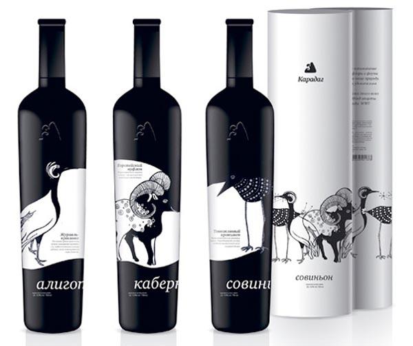 Karadag Wine - Packaging by Nadie Parshina
