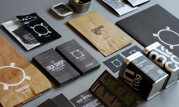 LS/Tea Sommelier - Corporate Identity - Design by leolab