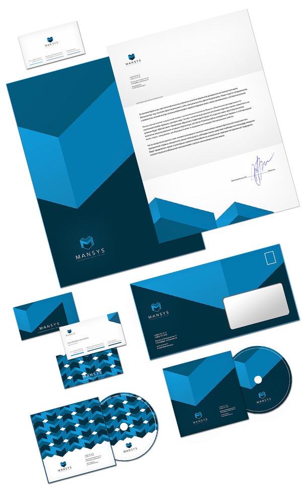 Mansus corporate design by sergey barabei for Corporate newsletter design inspiration