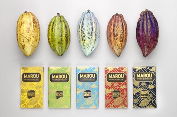 Marou Chocolate - Package Design by Rice Creative