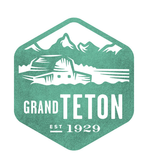 Grand Teton - National Park Stamp Icon