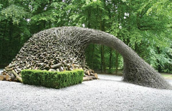 fascinating natural art installations
