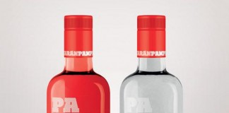 Pacharán Pamplonica Package Design
