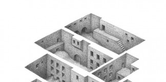 Room Series - Drawing by Mathew Borrett