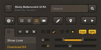 Free UI Kit - PSD