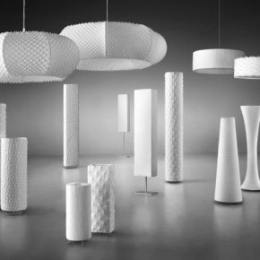 Handmade Fabric Lighting Design by Suzusan Luminaires